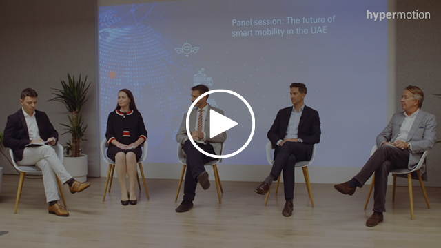 Hypermotion Dubai - The future of smart mobility in the UAE video panel discussion video