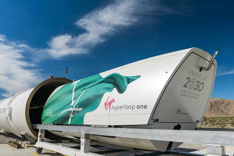 Hypermotion Dubai Industry News - Hyperloop test site gets high speed travel back on track