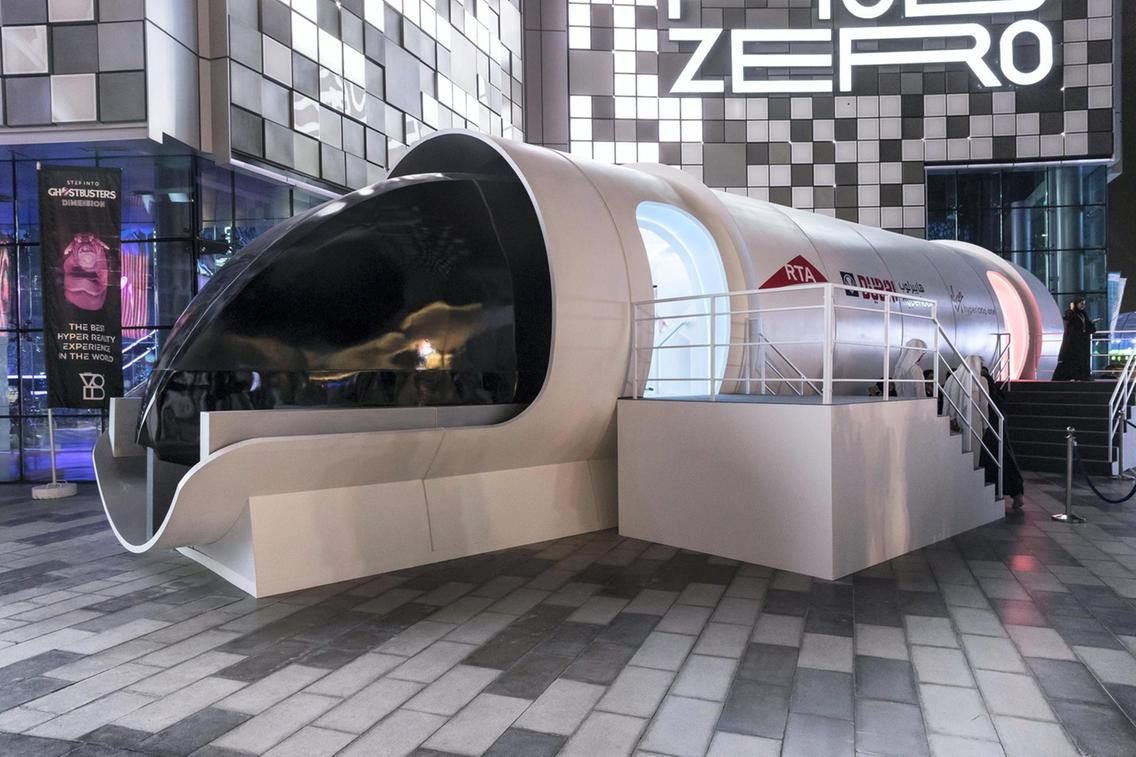 Hypermotion Dubai Industry News - Virgin Hyperloop launches new plan to bring high-speed travel to India's tech hub