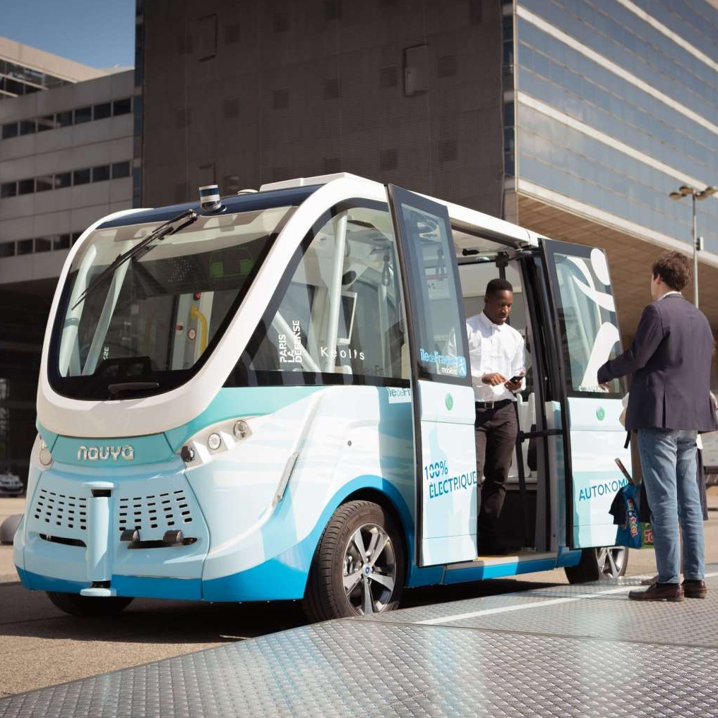 Hypermotion Dubai Industry News - Driverless shuttles complete successful trial in Sharjah
