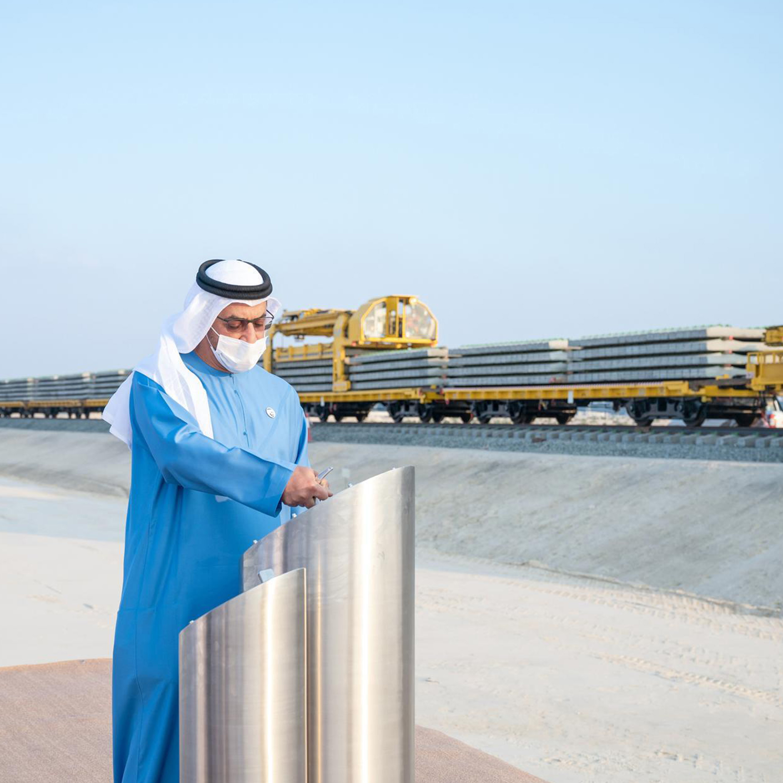 Hypermotion Dubai Industry News - Construction starts on UAE railway link to Saudi border