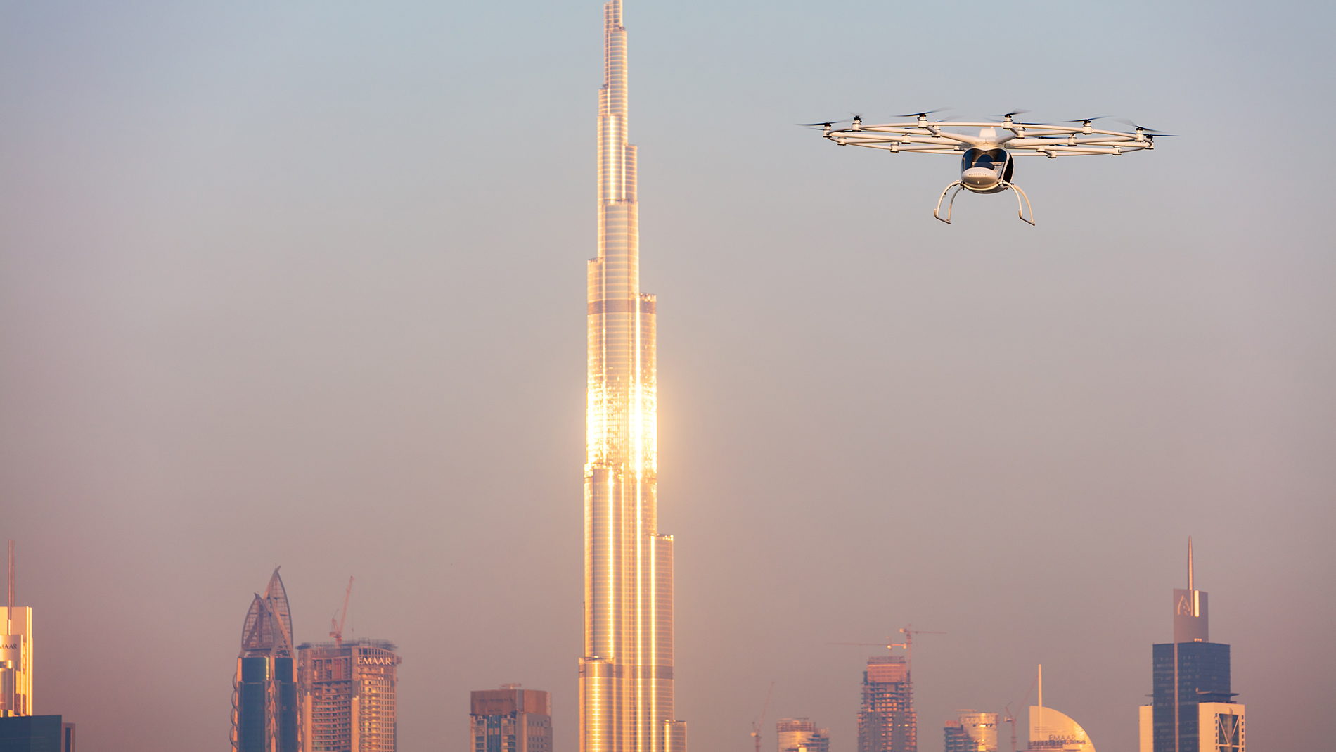 Hypermotion Dubai Industry News - A taxi comes flying